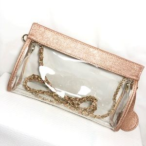 UNBRANDED Bags - Stylish Clear Bag Purse Crossbody Handbag Clutch
